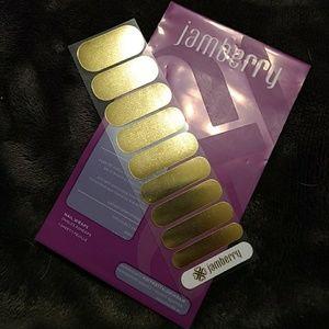 Jamberry Mirror Metallic Gold RETIRED!